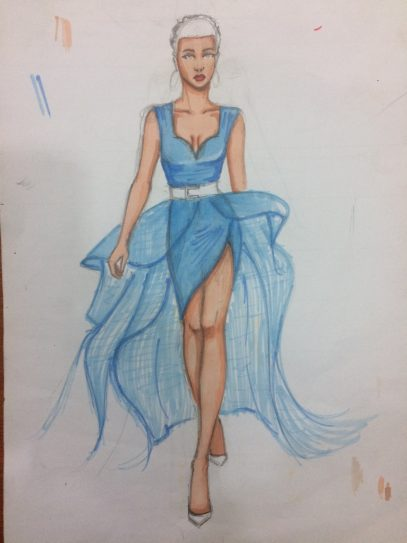 Fashion Illustration Class at Martwayne
