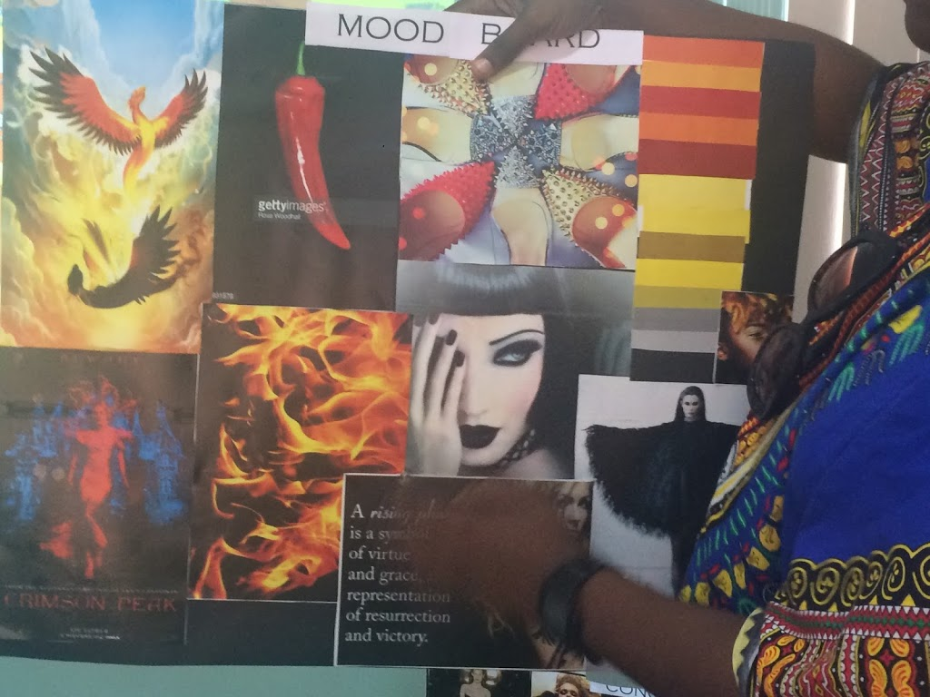 Student Moodboard in Creative Class at Martwayne