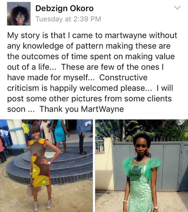 Student testimonial on learn pattern making from scratch