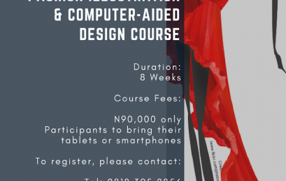 Learn fashion illustration, develop fashion collections, draw right from scratch!  Registration is still on for our Creative Course!!!