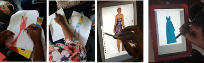 Learn to Draw step by step in martwayne Fashion Illustration Class