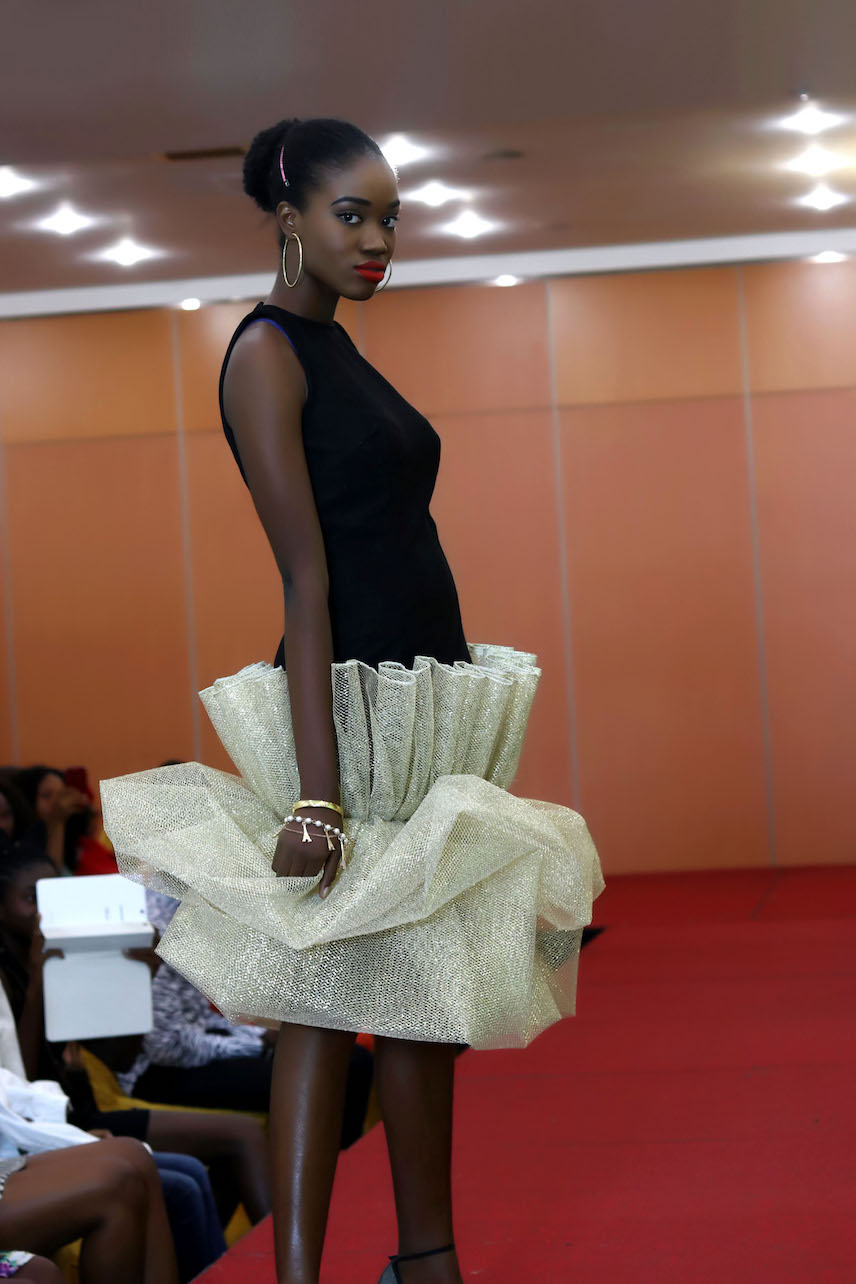 Martwayne Advanced Student project at a fashion show