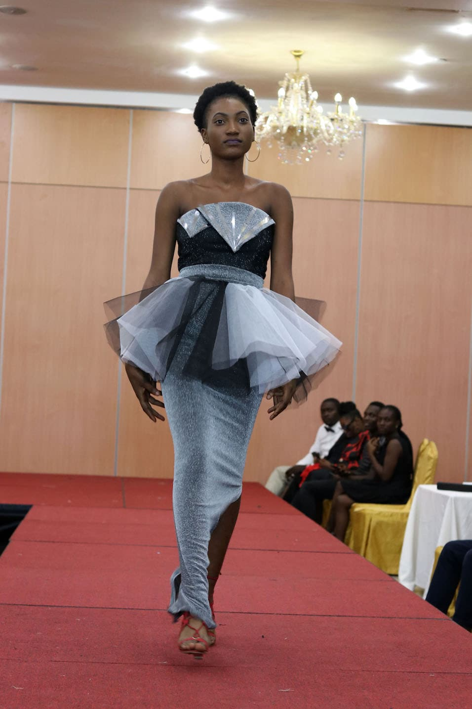 Advanced Student project on the runway