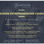 Fashion Entrepreneurship Course