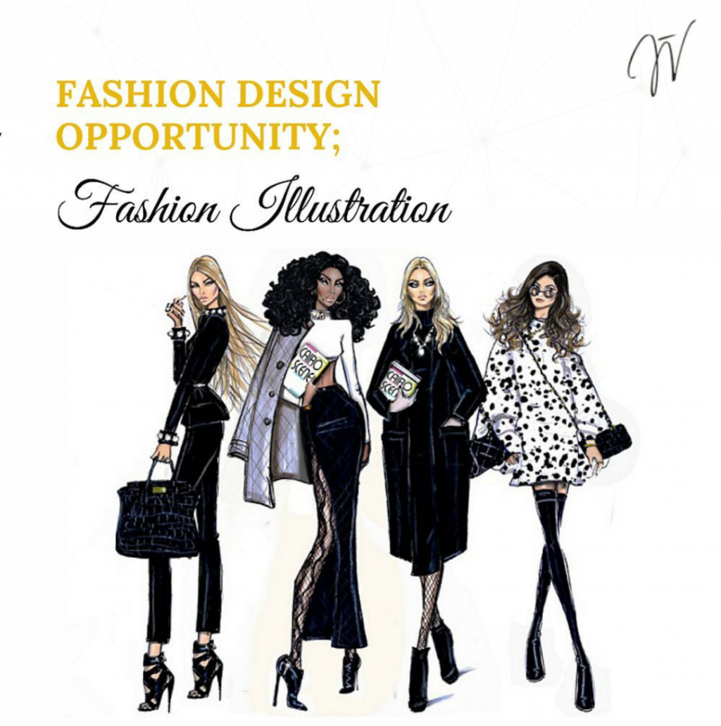 Fashion Business Opportunity: Fashion Illustrator