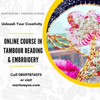 Tambour Beading and Embroidery