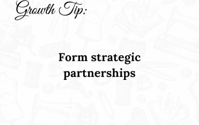 Form Strategic Partnerships